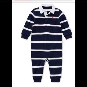Baby Boy Polo One Piece
